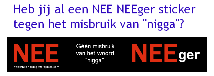 NEE NEEger Sticker