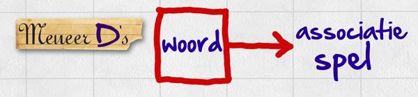 Meneer D's Woordassociatiespel - logo
