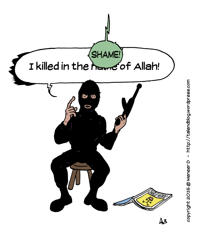 "Paris terrorist: ""I killed in the *** of Allah!"""