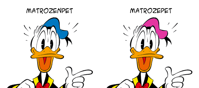 Donald Duck matrozenpet