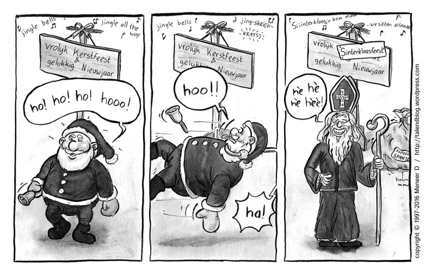 Kerst versus Klaas