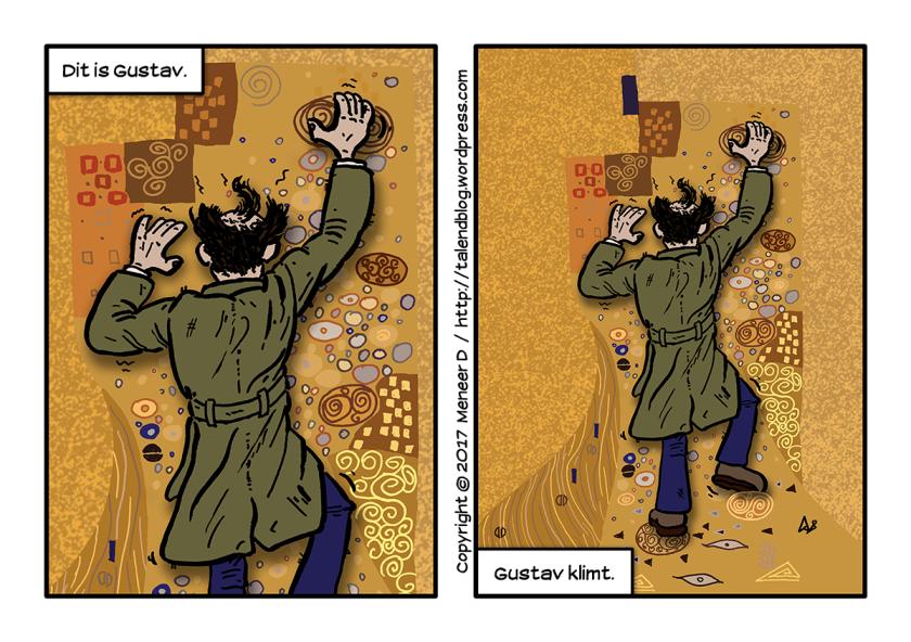 Strip: Gustav klimt